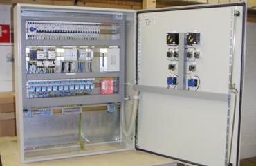 Apparatskåp och Elautomatik